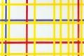 Piet Mondrian - New york city I