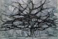 Piet Mondrian - The gray tree