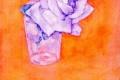 Piet Mondrian - White rose in a glass