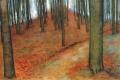 Piet Mondrian - Wood with beech trees