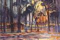 Piet Mondrian - Woods near oele