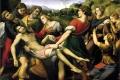 Raffaello Sanzio - Deposizione borghese parte centrale della pala baglioni