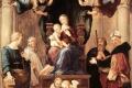 Raffaello Sanzio - Madonna del baldacchino