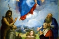 Raffaello Sanzio - Madonna di foligno