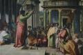 Raffaello Sanzio - Predica di san paolo cartone per arazzo