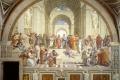 Raffaello Sanzio - Scuola di atene stanza della segnatura