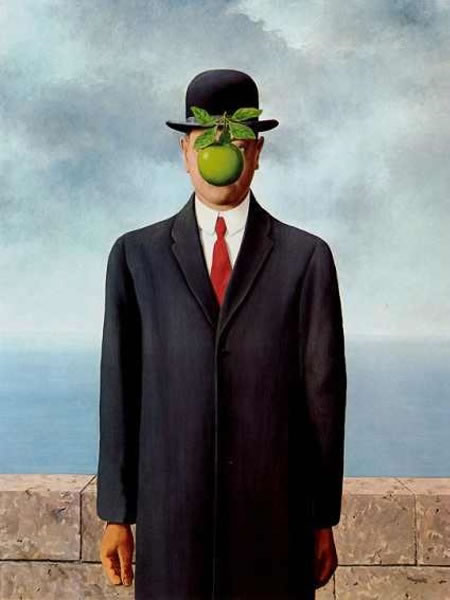 Renè Magritte - The son of man