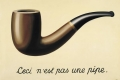 Renè Magritte - The Treachery of images this is not a pipe