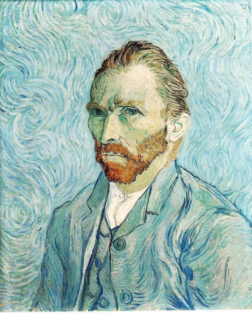 Vincent Van Gogh - Self portrait 01