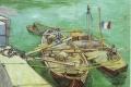 Vincent Van Gogh - Die rhonebarken arles