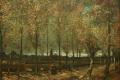 Vincent Van Gogh - Laan met populieren in de buurt van nuenen
